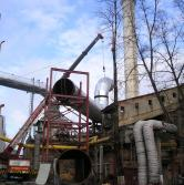 Central Heating and Power Plant in Kyiv (Liebherr LTM 1120)